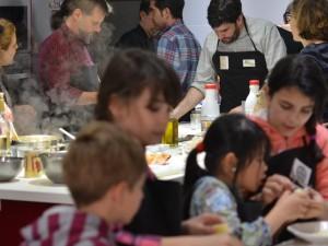 Comida Taller de Cocina divertida y saludable para familias con niños
